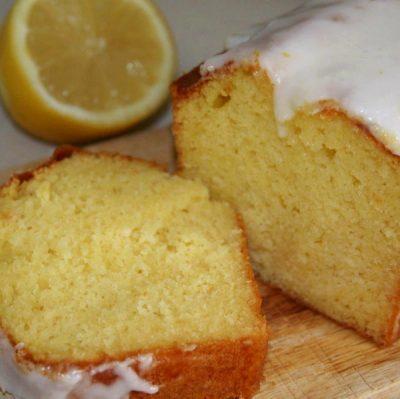 Кекс с белой глазурью на смеси Монтемикс 4501 арт.Лимон компании Фудмикс
