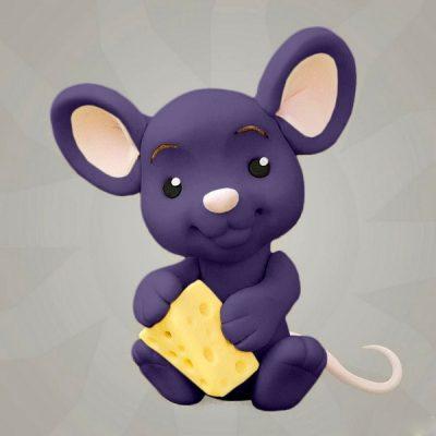 Мастика фиолетовая для декора компании Фудмикс