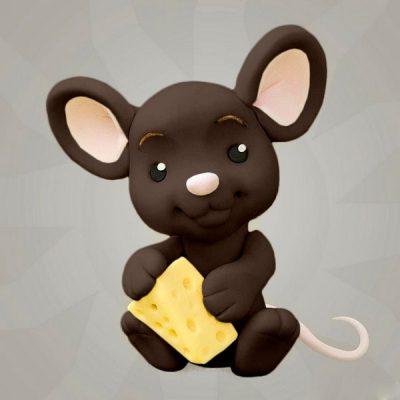 Мастика коричневая для декора компании Фудмикс