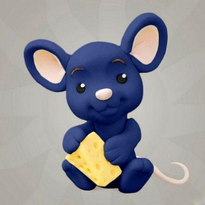 Мастика синяя для декора компании Фудмикс