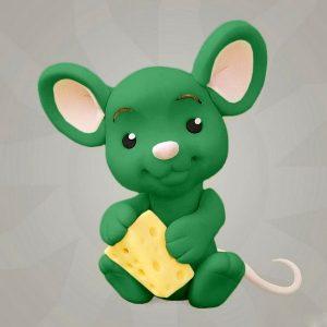 Мастика зеленая для декора компании Фудмикс