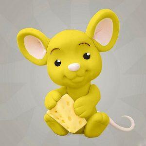Мастика желтая для декора компании Фудмикс