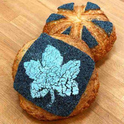 Хлеб Ремесленный на смеси Rustic White и начинка маковая Экстра производства компании Фудмикс