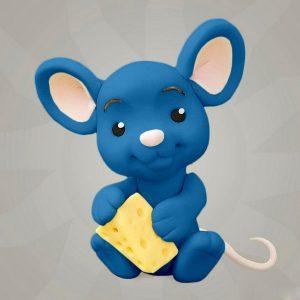 Мастика голубая для декора компании Фудмикс