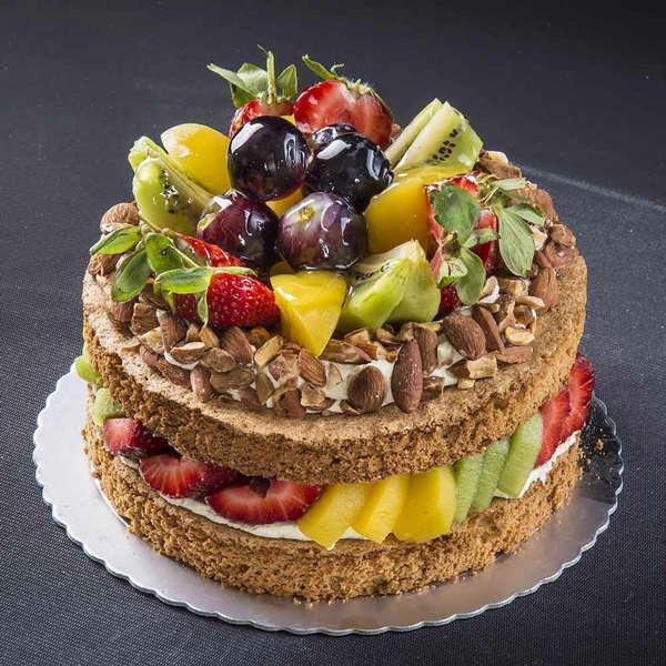 Десерт с использованием геля нейтральный производства компании Фудмикс