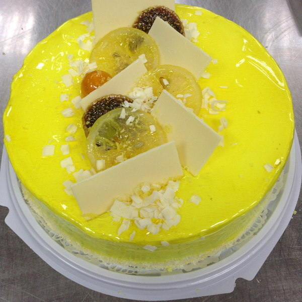 """Торт , покрытие Гель """"Лимон"""" производства компании Фудмикс"""