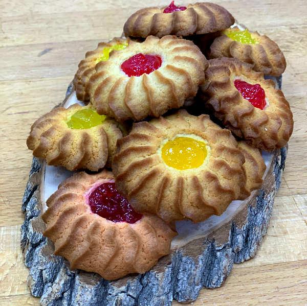 Печенье с начинками ДэллиФрут со вкусом лимона и вишни