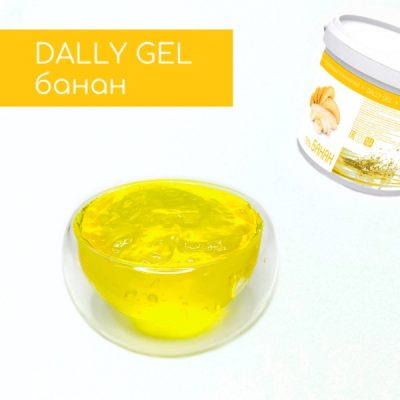 Гель DALLY GEL Банан производства компании Фудмикс