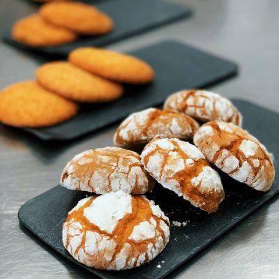 Печенье Мраморная нежность на смеси Монтемикс 4501 арт. Лимон компании Фудмикс