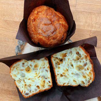 Маффин сырный с использованием смеси Монтемикс 4501 производства компании Фудмикс