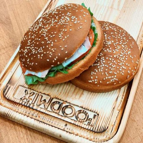 Булочки для гамбургеров на смеси Софипан Toast компании Фудмикс