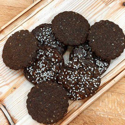 Печенье скандинавское шоколадное на смеси Монабейк 6004Ш артикул шоколад производства компании Фудмикс