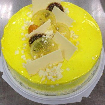FM торт и использованием геля лимонный